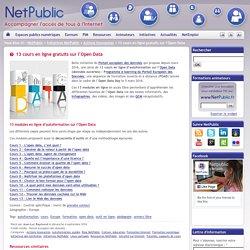 13 cours en ligne gratuits sur l'Open Data