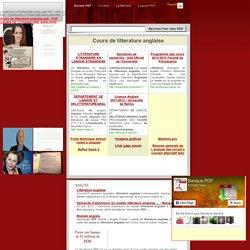 Cours de litterature anglaise pdf - PDF COURS DE LITTERATURE ANGLAISE