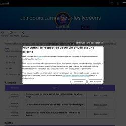 Les cours Lumni pour les lycéens - Emissions Lumni