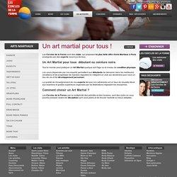 Cours d'Arts martiaux à Paris aux Cercles de la Forme.