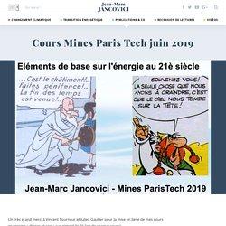 Cours Mines Paris Tech juin 2019