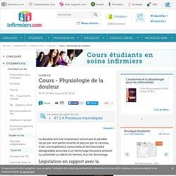 Cours - Physiologie - La douleur