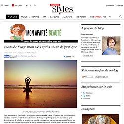 Cours de Yoga: mon avis après un an de pratique