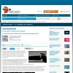 Cours public : la théorie du complot par Sylvain Delouvée