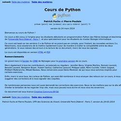 Cours de Python