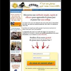 Cours et stage de piano jazz sans solfège ! Ecole de piano à Paris