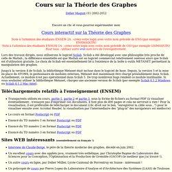 Cours sur la Théorie des Graphes