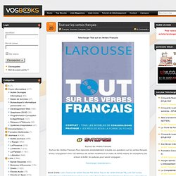 Cours Tout Sur Les Verbes Francais Pdf