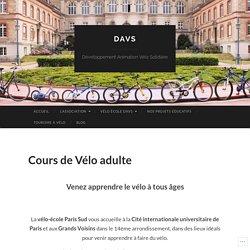Cours de Vélo adulte