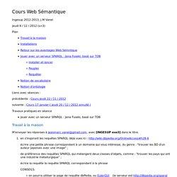 Cours Web Sémantique 3