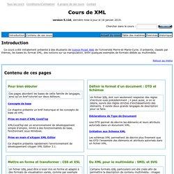 Cours de XML