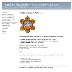 Cours de Yoga à Paris 11e et à Fontenay-sous-Bois » Cours à Paris 11e