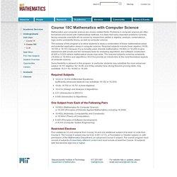 MIT Mathematics