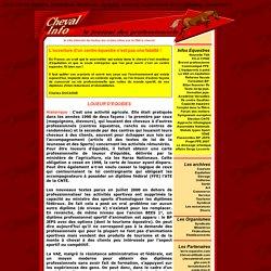 La course et l'agriculture - www.chevalinfo.com