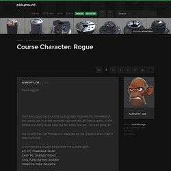 Course Character: Rogue - polycount