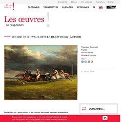 Course de chevaux, dite Le derby de 1821 à Epsom