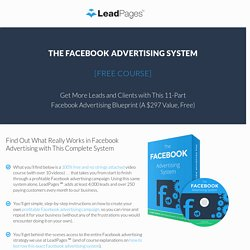 [Free Course] Facebook Advertising System