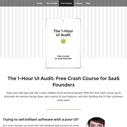 The 1-Hour UI Audit: Free Crash Course for SaaS Founders - UI Breakfast