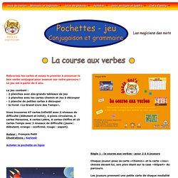 Conju Cat's - La course aux verbes, jeu cr par Fran ois Petit sur la conjugaison des verbes