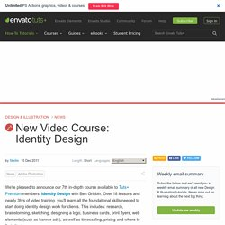New Video Course: Identity Design