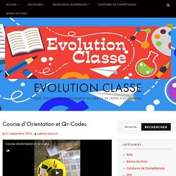 Course d'Orientation et Qr-Codes – Evolution Classe