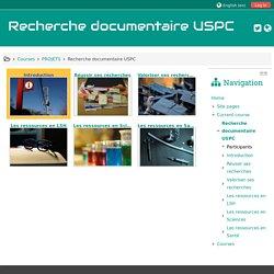 Course: Recherche documentaire