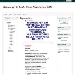 Course: Risorse per la LIM - Corso Ministeriale 2012