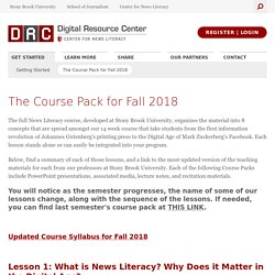 Stony Brook Center for News Literacy