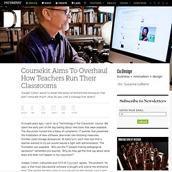 Coursekit Aims To Overhaul How Teachers Run Their Classrooms | Co.Design
