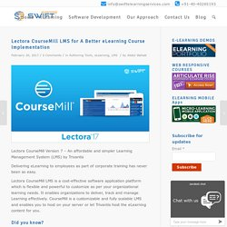 Lectora CourseMill Learning Management for elarning courses