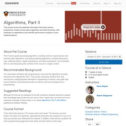 Algorithms in practical use, Part II