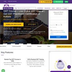 GST Practitioner Certification In Kolkata