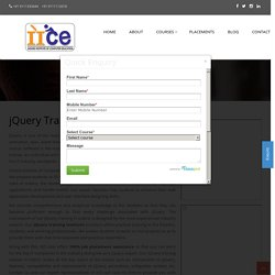 jQuery Training in Indore