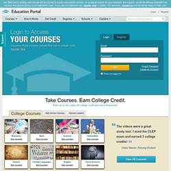 Education Portal Academy Sneak Peek: The Lowest Cost Path to Credit