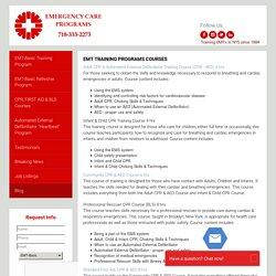 Emergency Care Programs