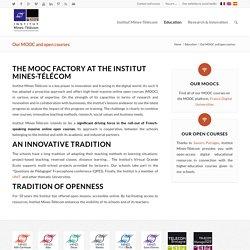 Nos MOOC et cours ouverts - Institut Mines-Télécom