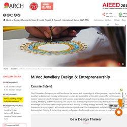 Master Courses in Jewellery Design