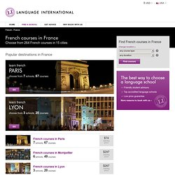 French Language Schools in France