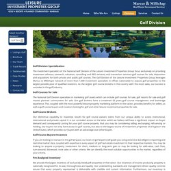 Golf Courses Property Brokers in North Carolina