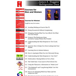 Courses for Men and Women - StumbleUpon