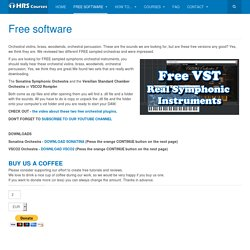 HRS Courses - Free VST - Real Orchestral Instruments
