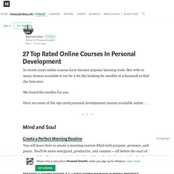 25 Top Rated Online Courses – Personal Growth