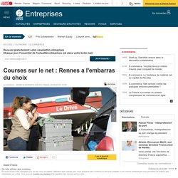 Courses sur le net : Rennes a l'embarras du choix