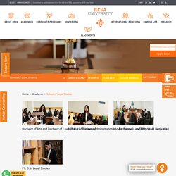 Best Law Courses by The School of Legal Studies