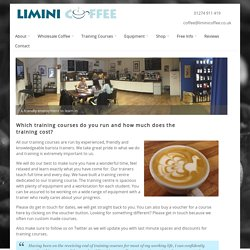 How to start a coffee shop courses, barista training courses, coffee training. Courses everyday.