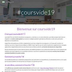 coursvide19 : Soutien scolaire gratuit pour collégiens & lycéens...