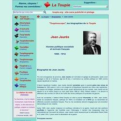 Courte biographie de Jean Jaurès