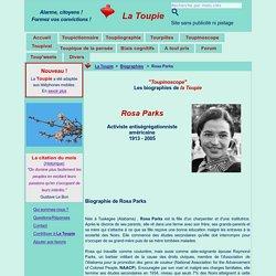 Courte biographie de Rosa Parks