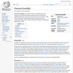 Vincent Courtillot