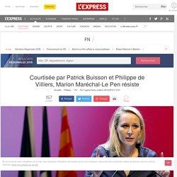 Courtisée par Patrick Buisson et Philippe de Villiers, Marion Maréchal-Le Pen...